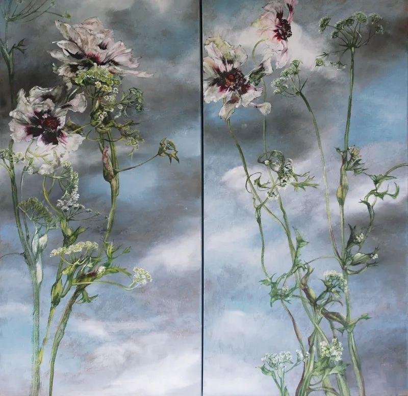 与花为邻,与草木为伍,她的画室充满大自然的灵气插图223
