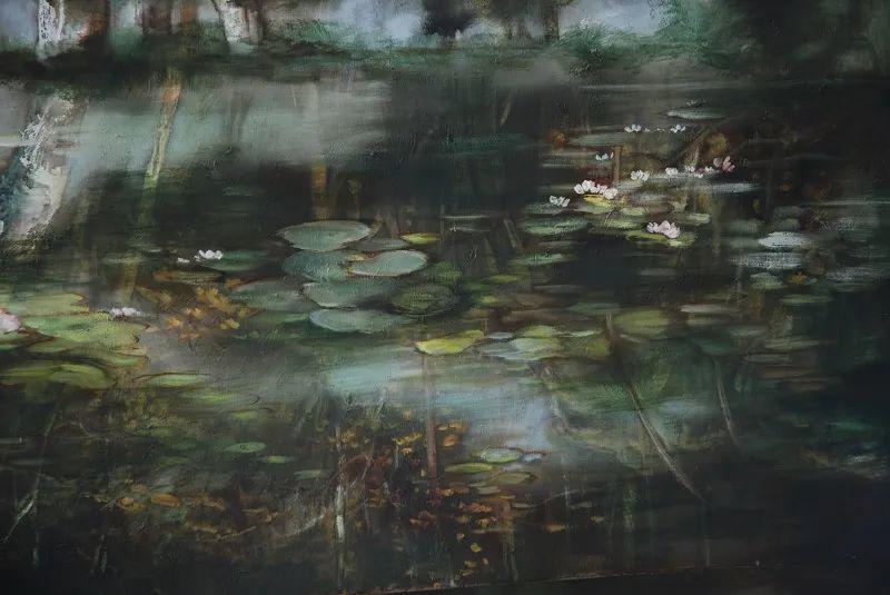 与花为邻,与草木为伍,她的画室充满大自然的灵气插图225