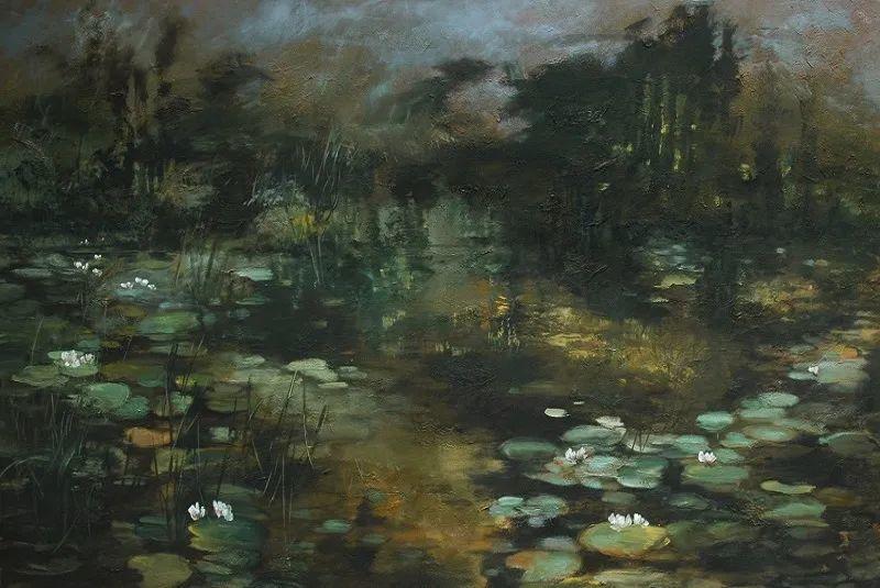 与花为邻,与草木为伍,她的画室充满大自然的灵气插图227