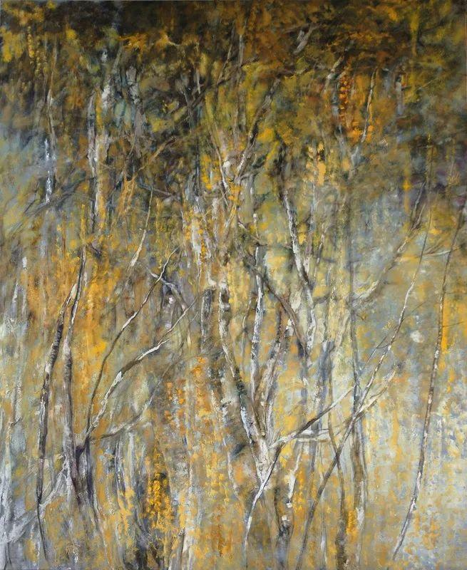 与花为邻,与草木为伍,她的画室充满大自然的灵气插图229