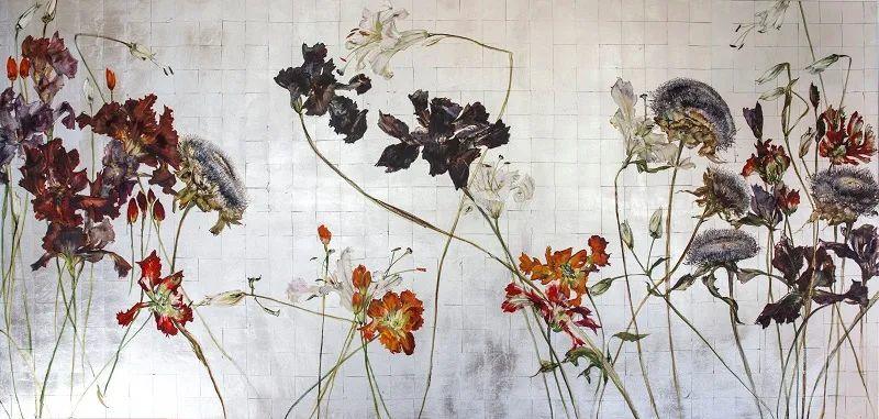 与花为邻,与草木为伍,她的画室充满大自然的灵气插图231