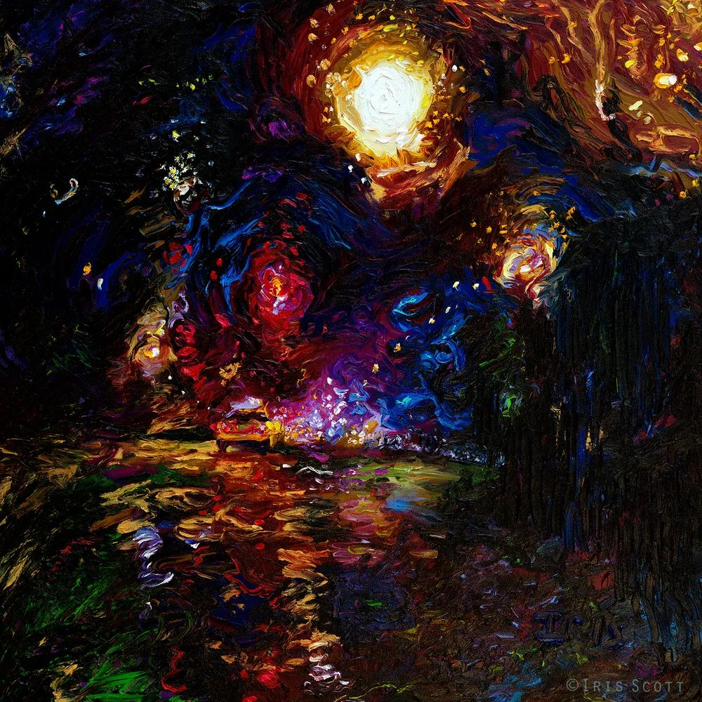 用颜料触摸这个世界!美国画家Iris Scott画选(下)——人物街景篇插图67