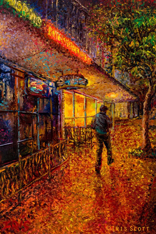 用颜料触摸这个世界!美国画家Iris Scott画选(下)——人物街景篇插图91