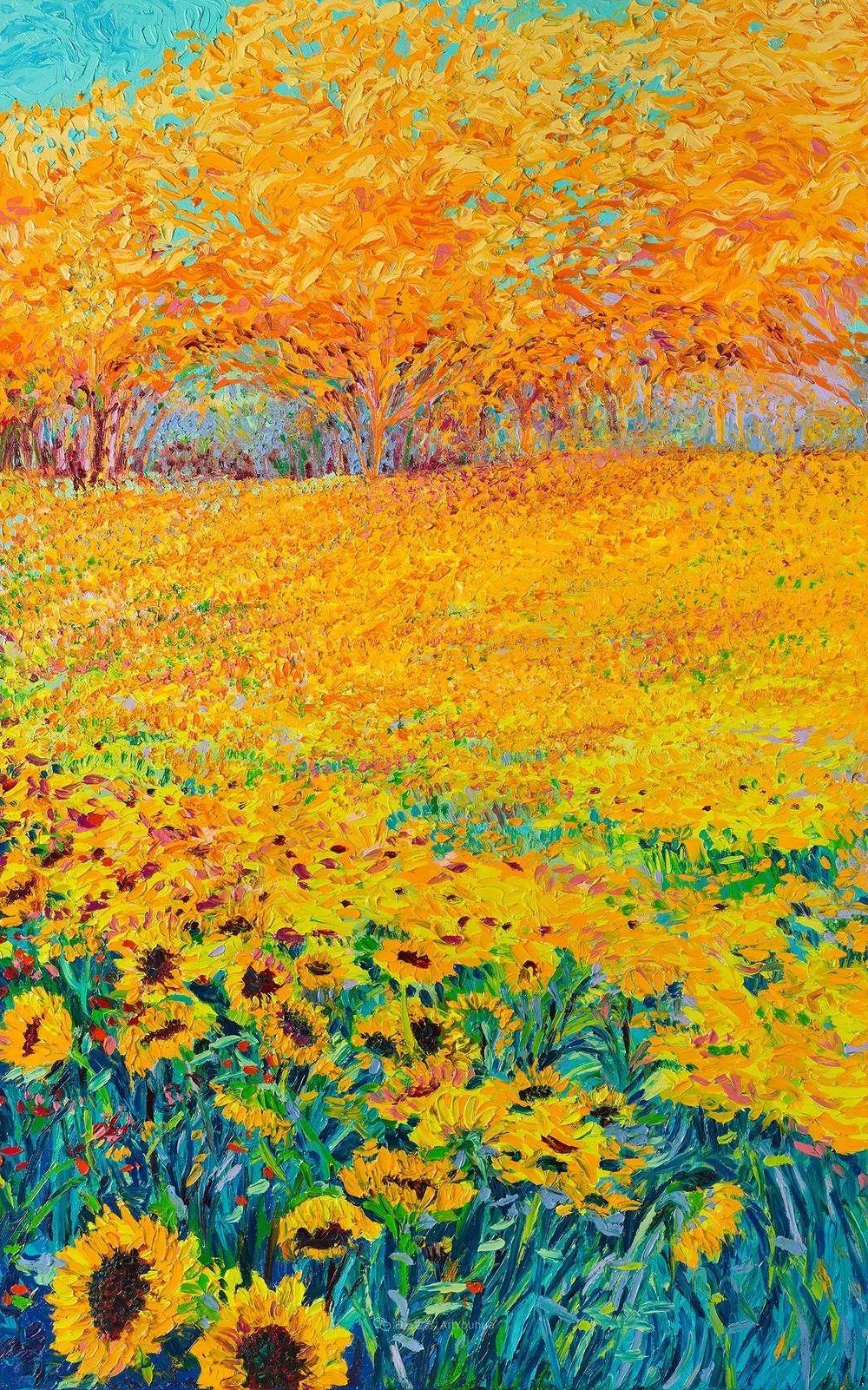 她用指尖来革新艺术世界,美国画家Iris Scott画选(上)插图37