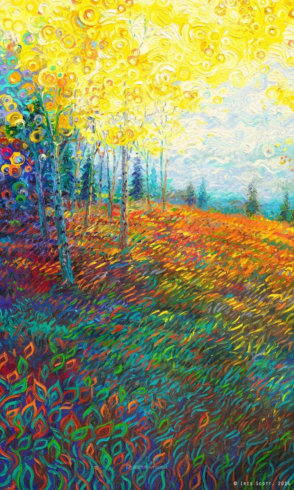 她用指尖来革新艺术世界,美国画家Iris Scott画选(上)插图41