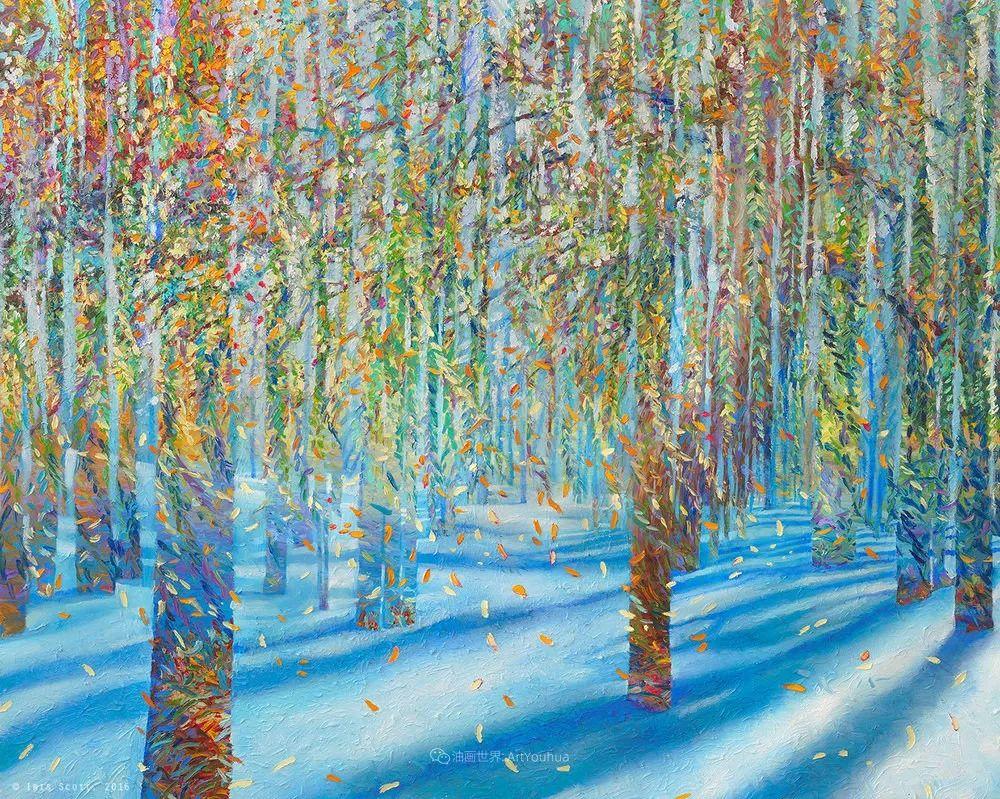 她用指尖来革新艺术世界,美国画家Iris Scott画选(上)插图51