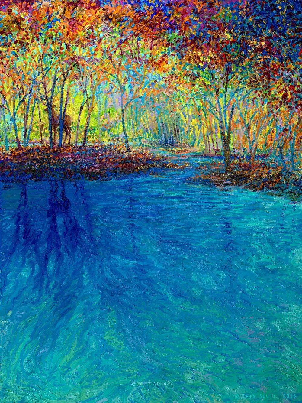 她用指尖来革新艺术世界,美国画家Iris Scott画选(上)插图61