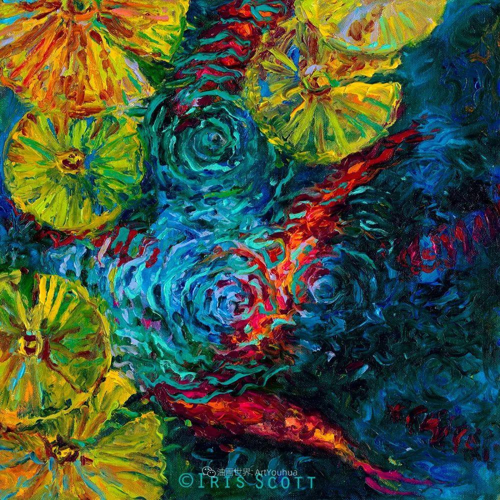 她用指尖来革新艺术世界,美国画家Iris Scott画选(上)插图71