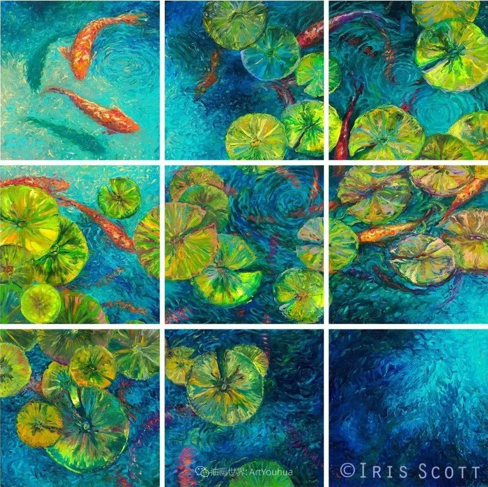 她用指尖来革新艺术世界,美国画家Iris Scott画选(上)插图77