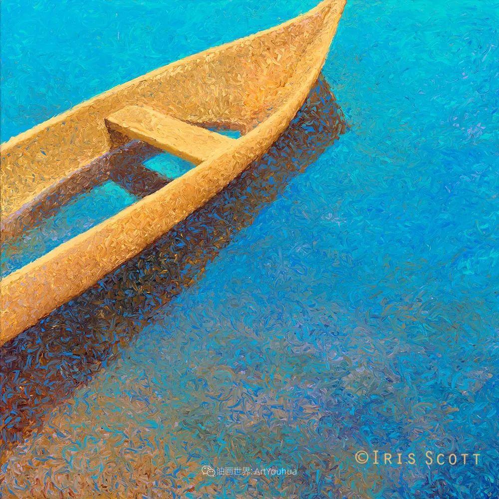 她用指尖来革新艺术世界,美国画家Iris Scott画选(上)插图99