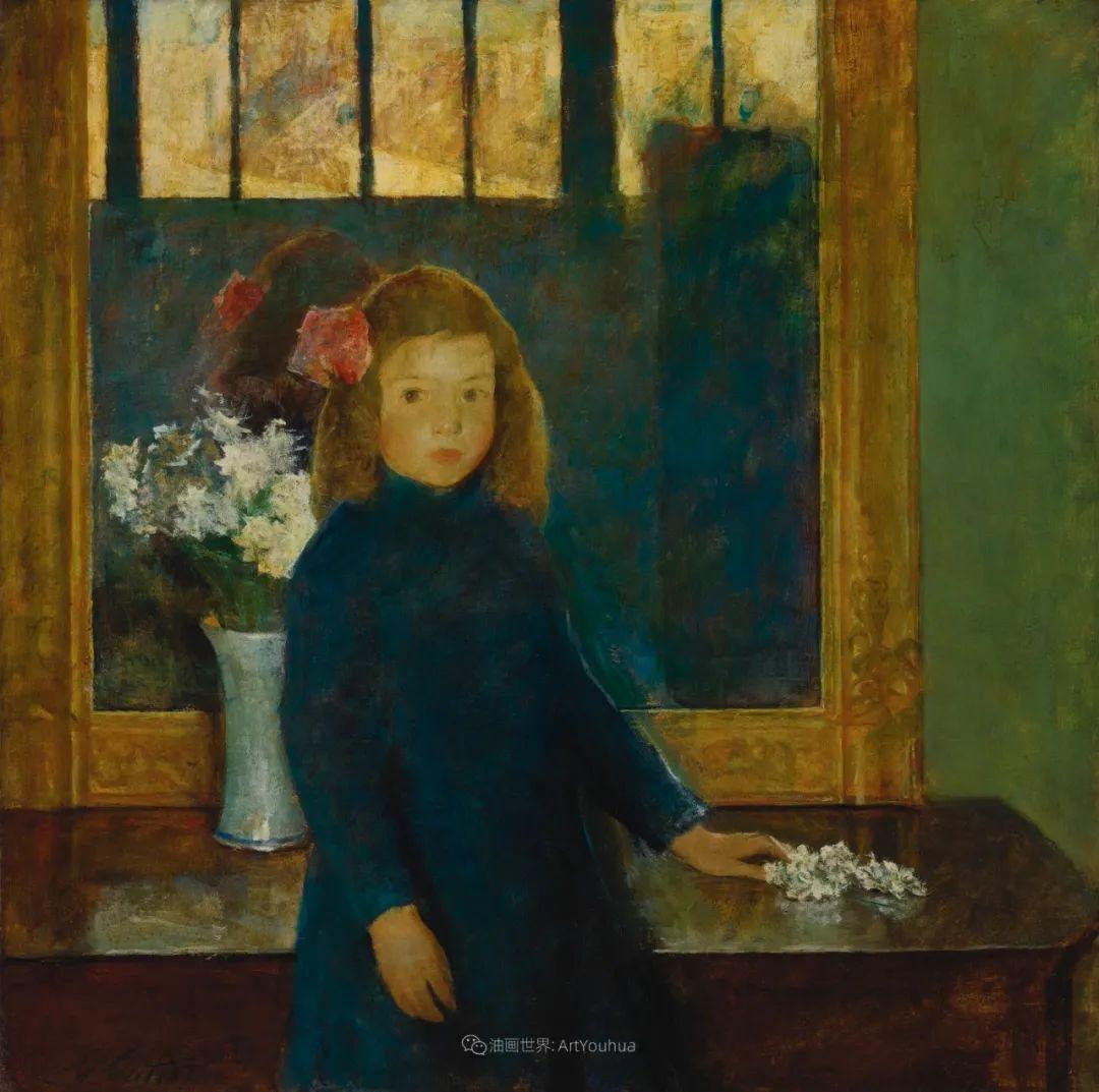富有灵魂的人物色彩,美国印象派画家查尔斯画选插图19