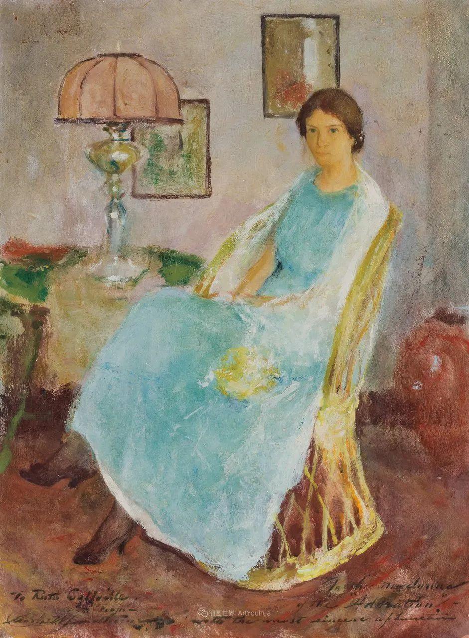 富有灵魂的人物色彩,美国印象派画家查尔斯画选插图33