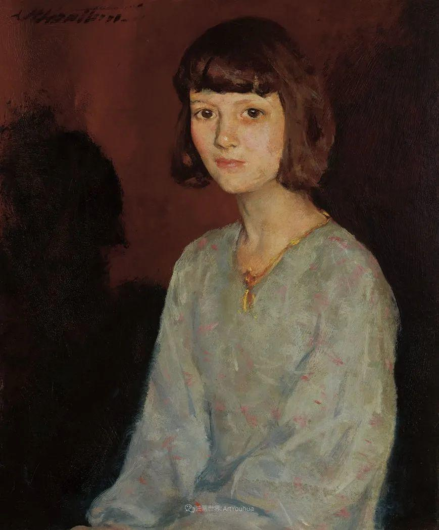 富有灵魂的人物色彩,美国印象派画家查尔斯画选插图37