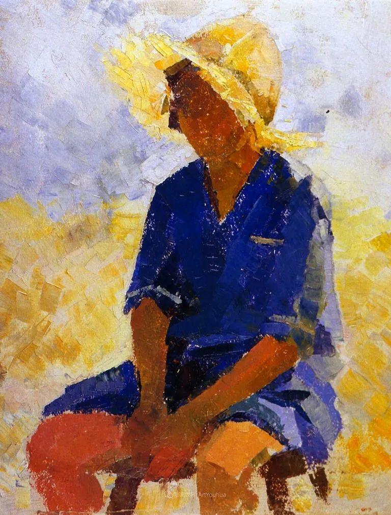 富有灵魂的人物色彩,美国印象派画家查尔斯画选插图69