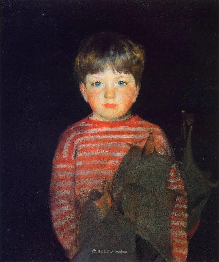 富有灵魂的人物色彩,美国印象派画家查尔斯画选插图79