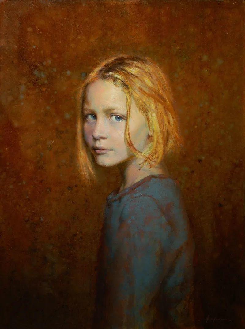 有趣而独特的人物肖像画,美国画家塞思·哈维坎普插图1