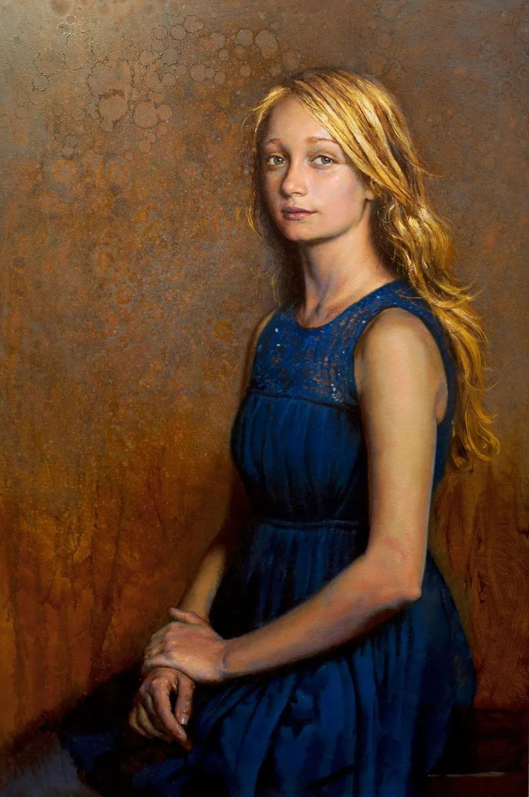 有趣而独特的人物肖像画,美国画家塞思·哈维坎普插图4