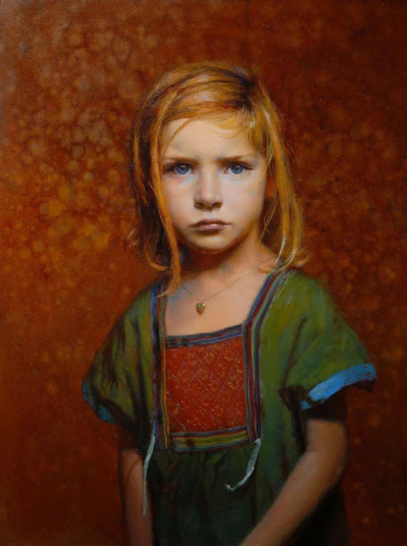 有趣而独特的人物肖像画,美国画家塞思·哈维坎普插图18