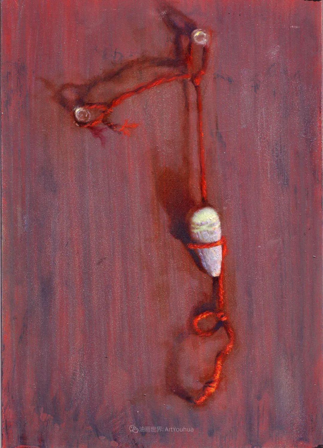 有趣而独特的人物肖像画,美国画家塞思·哈维坎普插图21
