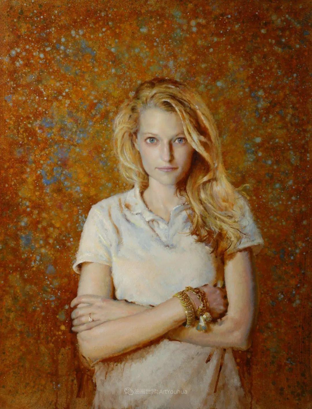 有趣而独特的人物肖像画,美国画家塞思·哈维坎普插图23