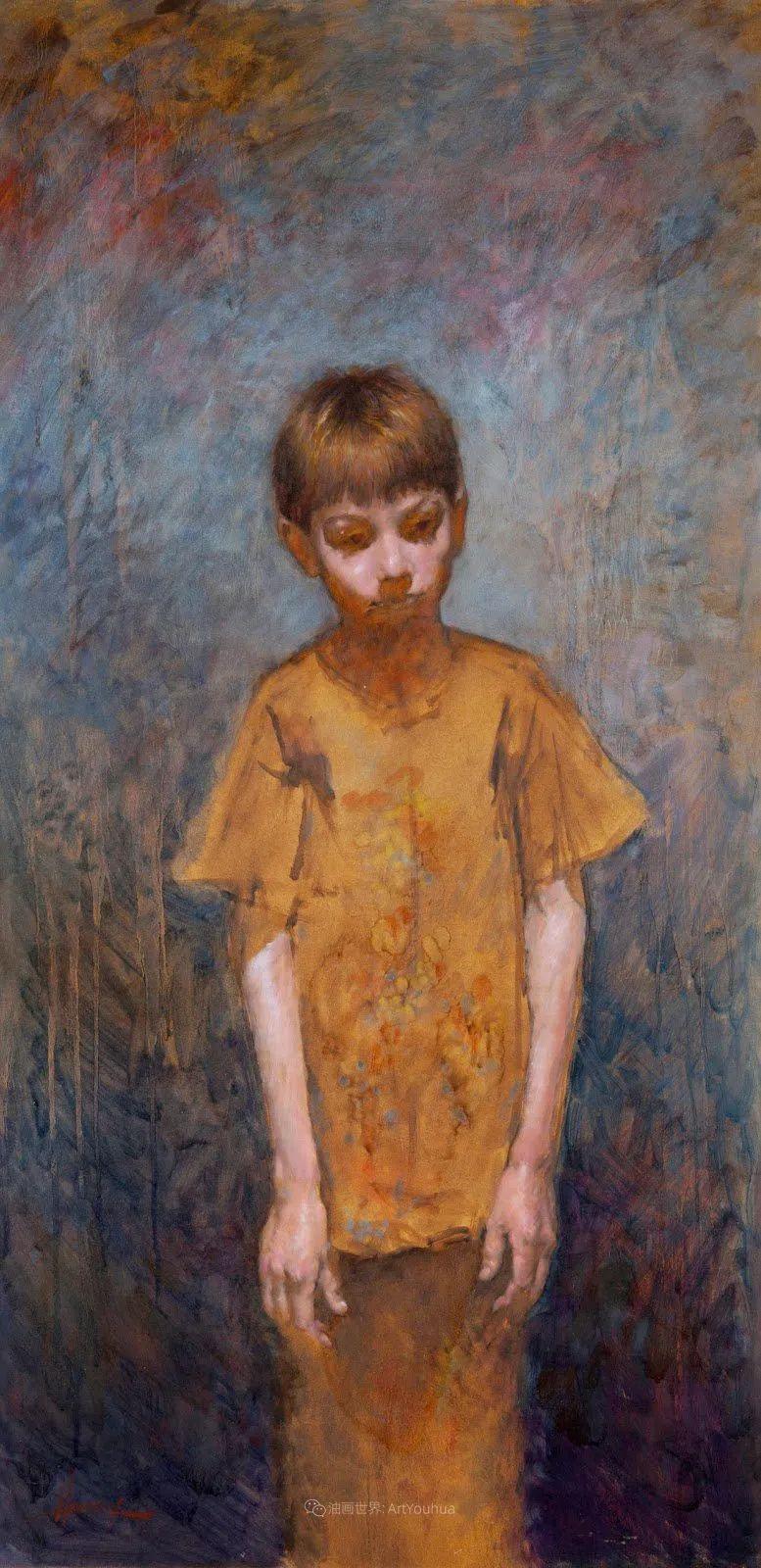 有趣而独特的人物肖像画,美国画家塞思·哈维坎普插图28