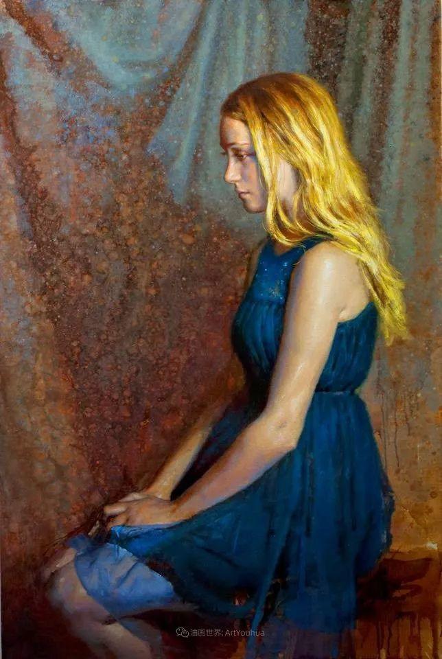 有趣而独特的人物肖像画,美国画家塞思·哈维坎普插图31