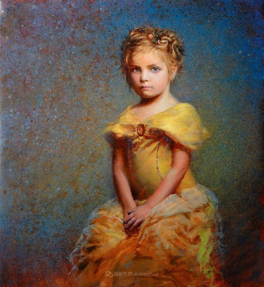 有趣而独特的人物肖像画,美国画家塞思·哈维坎普插图32
