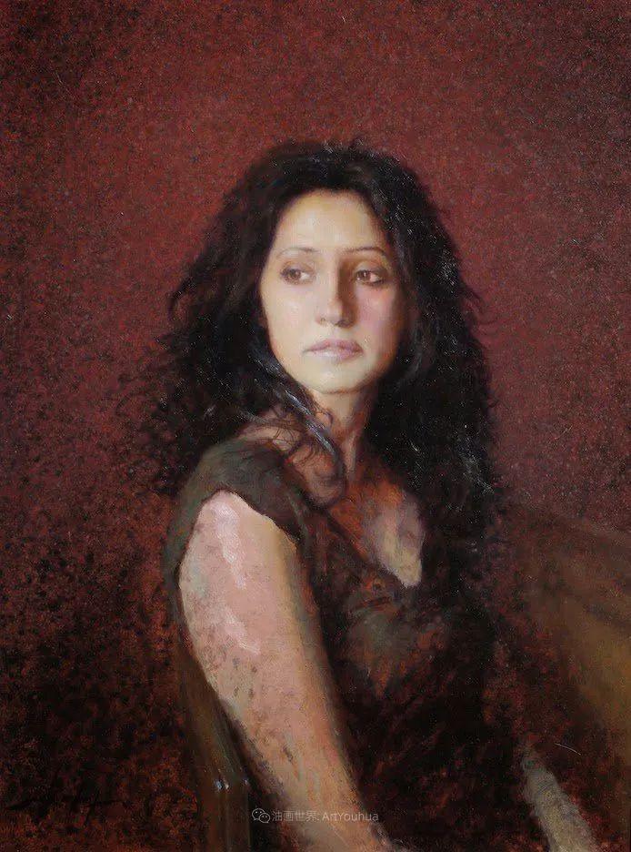有趣而独特的人物肖像画,美国画家塞思·哈维坎普插图33