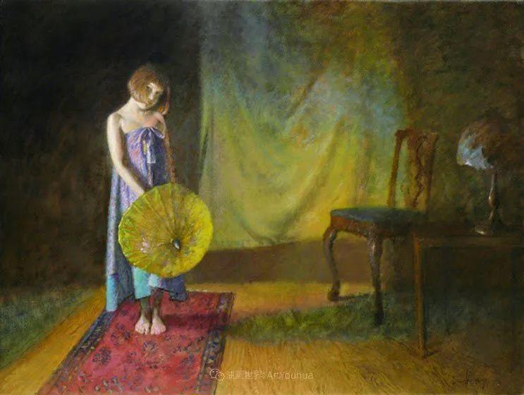 有趣而独特的人物肖像画,美国画家塞思·哈维坎普插图35