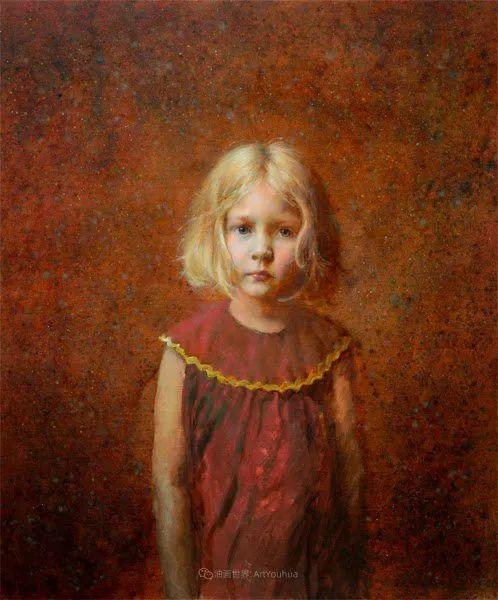 有趣而独特的人物肖像画,美国画家塞思·哈维坎普插图36