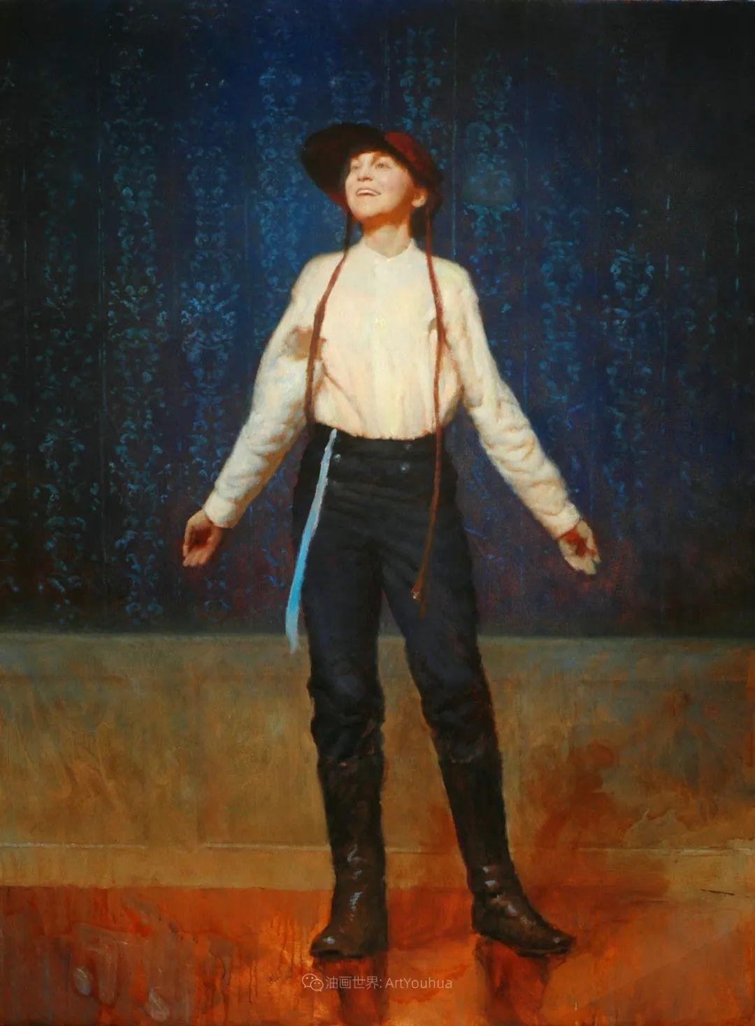 有趣而独特的人物肖像画,美国画家塞思·哈维坎普插图37