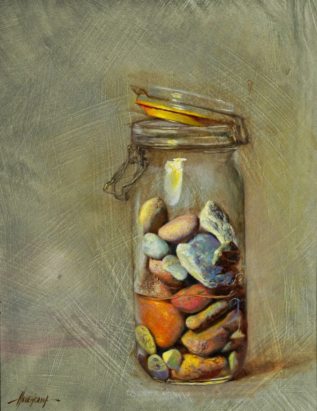 有趣而独特的人物肖像画,美国画家塞思·哈维坎普插图40