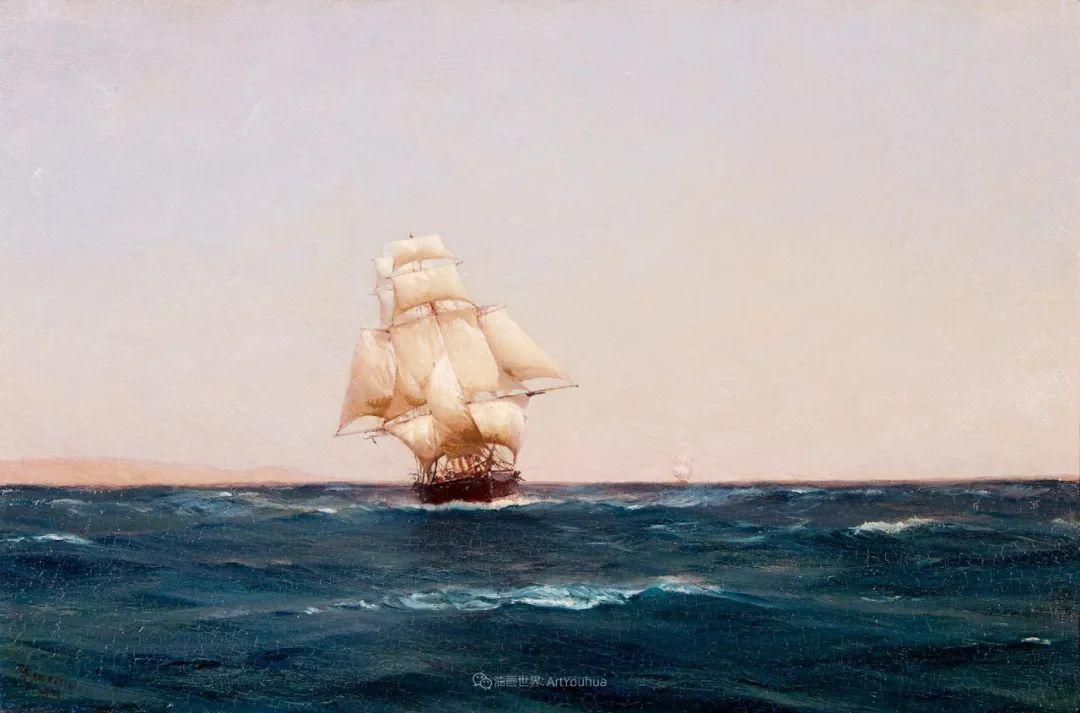 海军校长笔下海的艺术,英国画家萨默斯卡尔斯作品选插图1