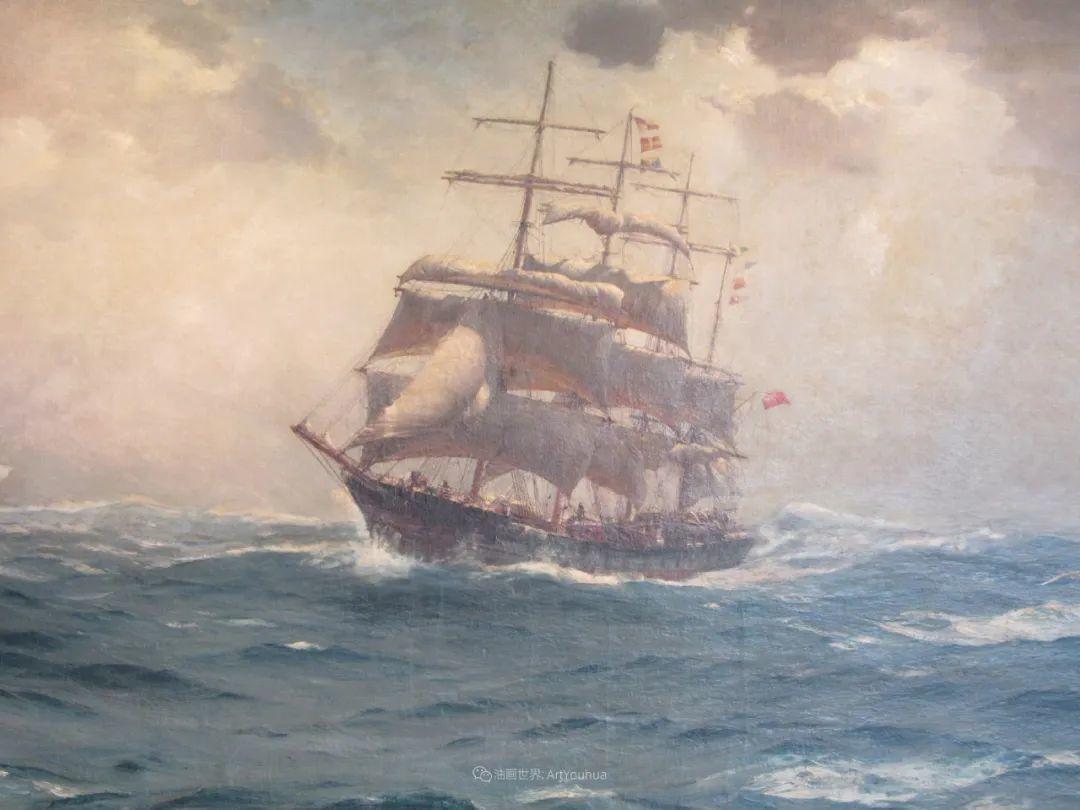 海军校长笔下海的艺术,英国画家萨默斯卡尔斯作品选插图6