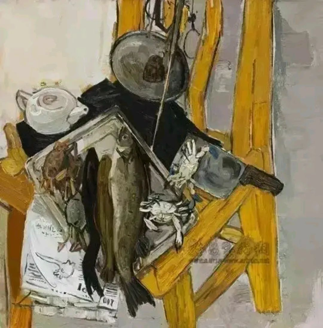 画我所要——戴士和的油画写意插图28