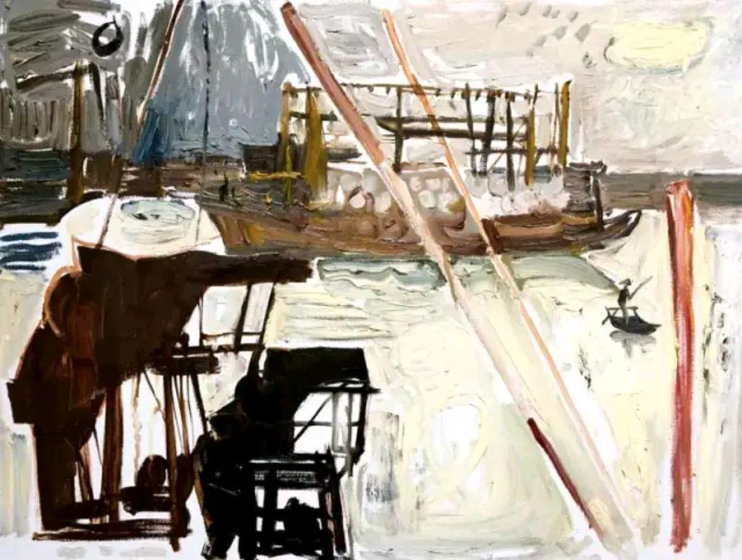 画我所要——戴士和的油画写意插图51