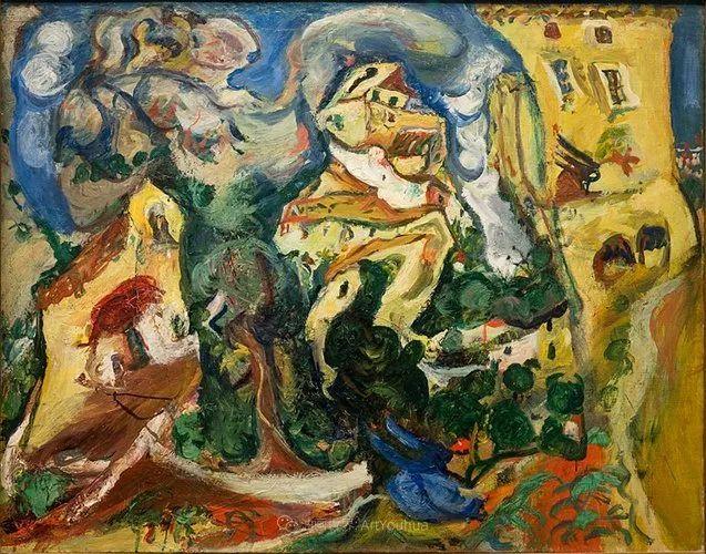 笔触粗放,犹如旋风!俄罗斯裔犹太人查姆·苏丁插图16