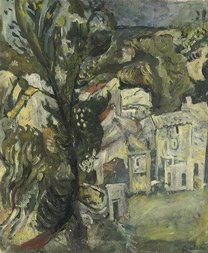 笔触粗放,犹如旋风!俄罗斯裔犹太人查姆·苏丁插图18