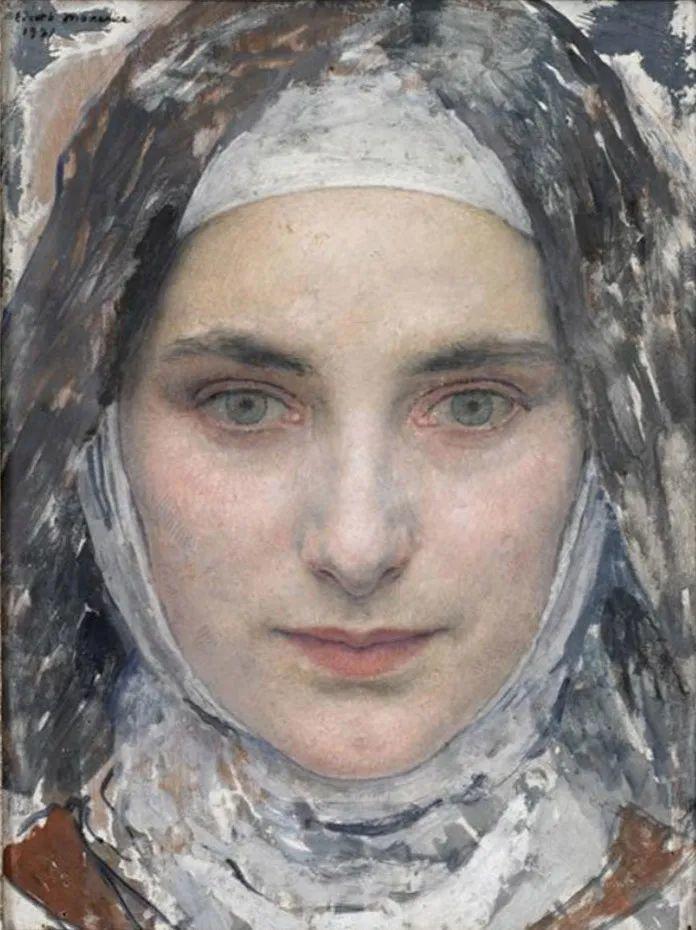 德朗和莫罗的学生,法国象征主义画家埃德加·马克森斯插图9