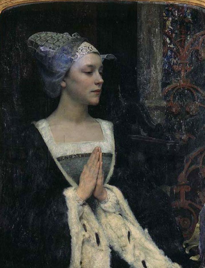 德朗和莫罗的学生,法国象征主义画家埃德加·马克森斯插图10