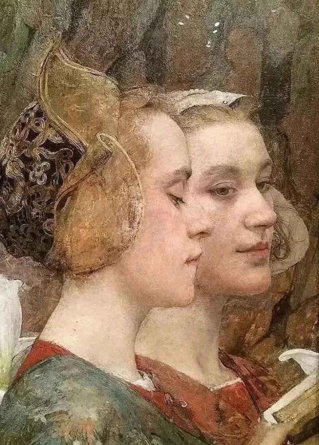 德朗和莫罗的学生,法国象征主义画家埃德加·马克森斯插图21