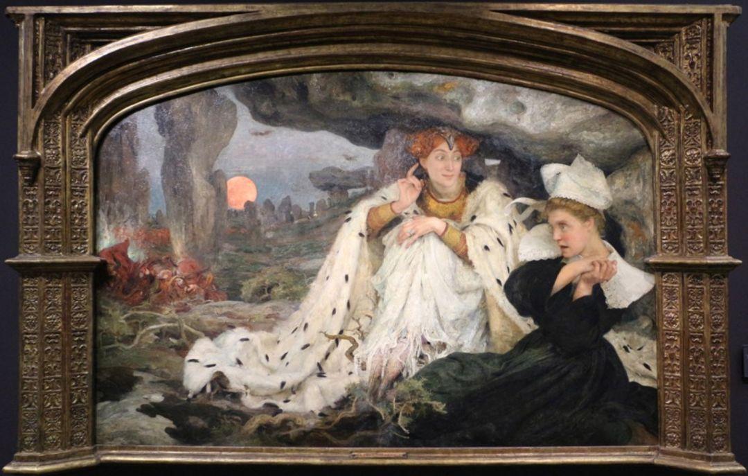 德朗和莫罗的学生,法国象征主义画家埃德加·马克森斯插图22