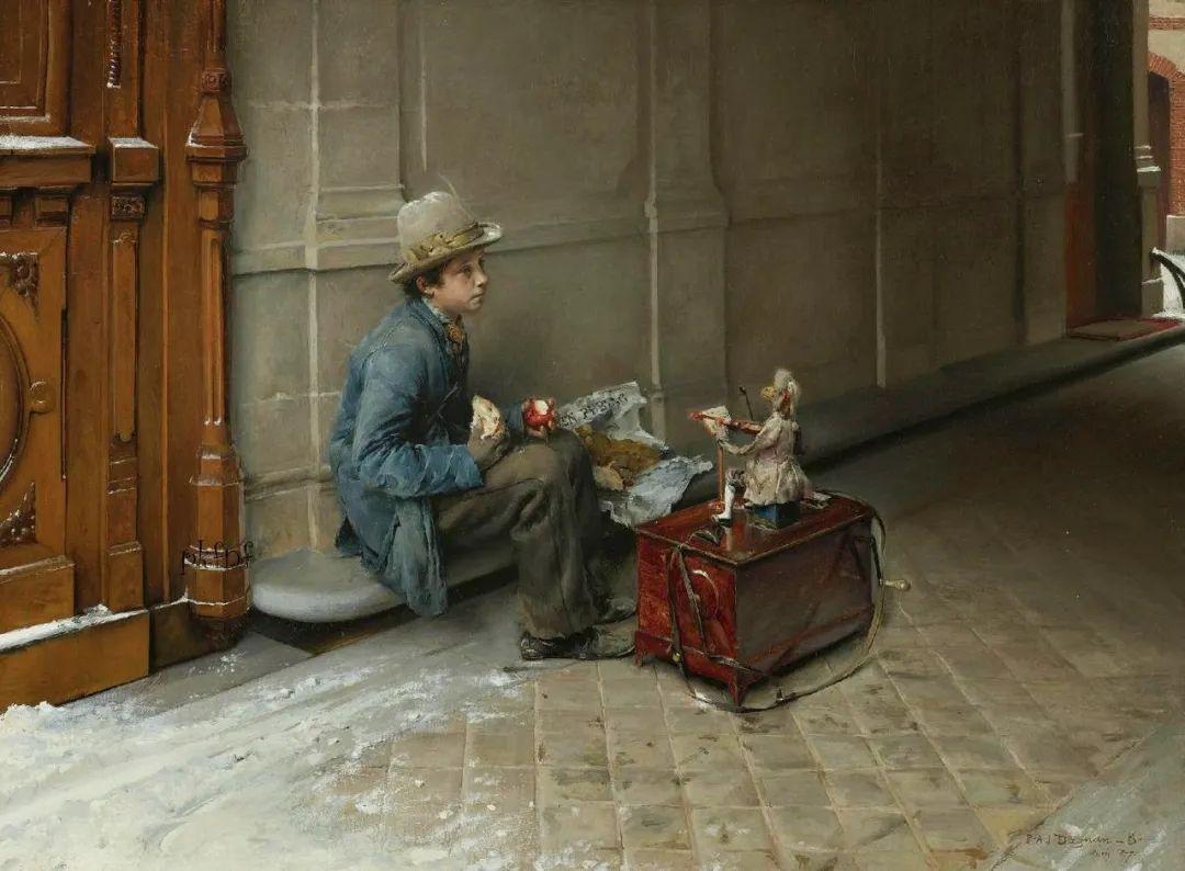 你见过徐悲鸿的画,但他法国老师的画你见过吗?插图7
