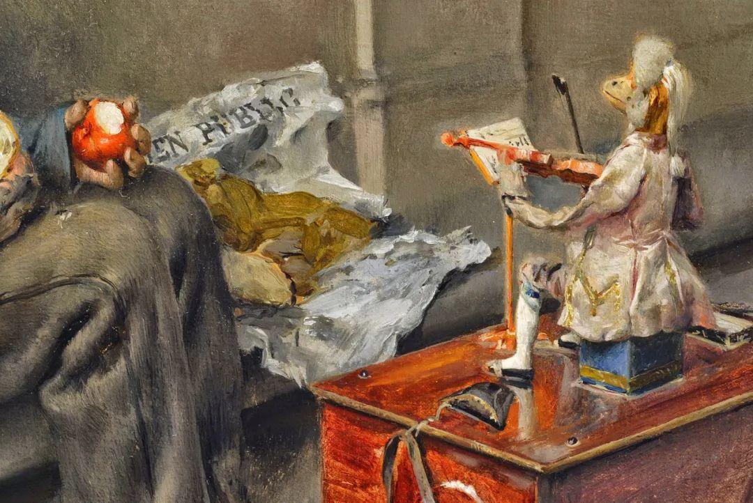 你见过徐悲鸿的画,但他法国老师的画你见过吗?插图10