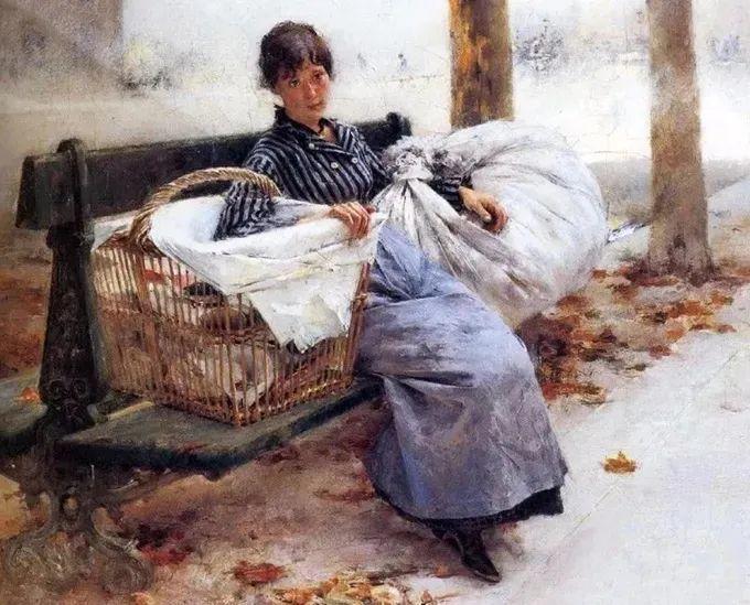 你见过徐悲鸿的画,但他法国老师的画你见过吗?插图28