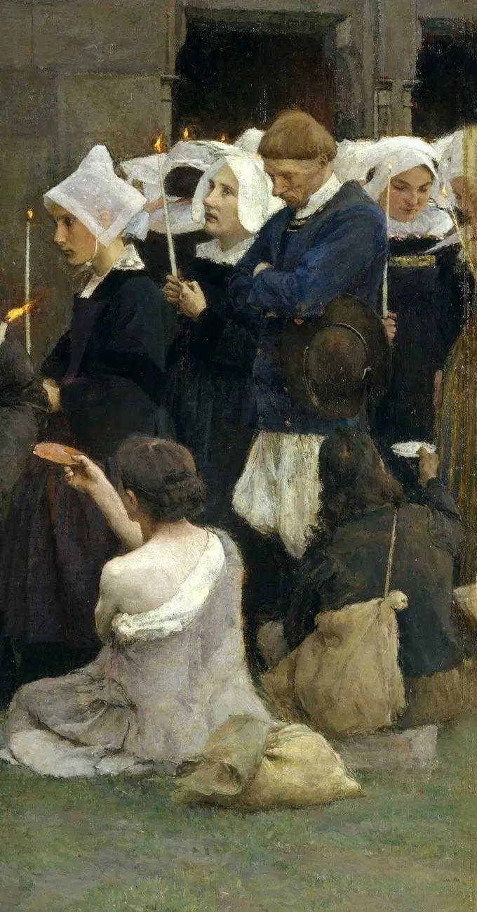 你见过徐悲鸿的画,但他法国老师的画你见过吗?插图31