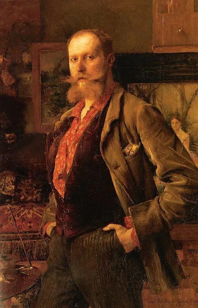 你见过徐悲鸿的画,但他法国老师的画你见过吗?插图41