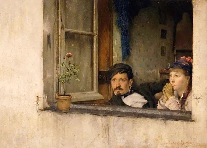 你见过徐悲鸿的画,但他法国老师的画你见过吗?插图47