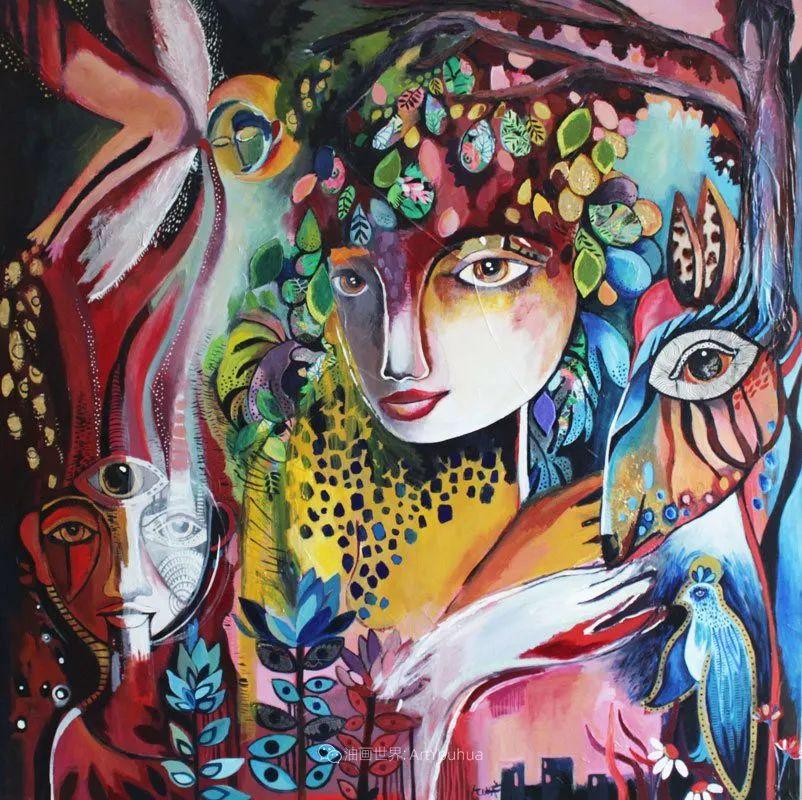 """""""睁一只眼闭一只眼"""",法国女艺术家Laure Ketfa作品选插图15"""