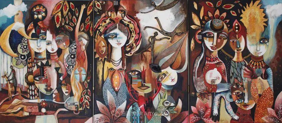 """""""睁一只眼闭一只眼"""",法国女艺术家Laure Ketfa作品选插图17"""